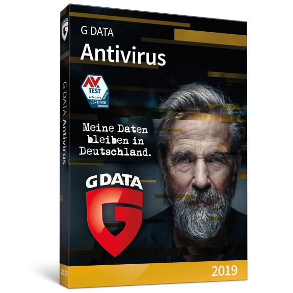 G Data AntiVirus 3 PC 1 Jahr ESD Key