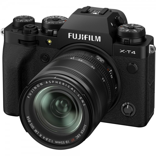 Fujifilm X-T4 Body schwarz + XF 18-55/2,8-4