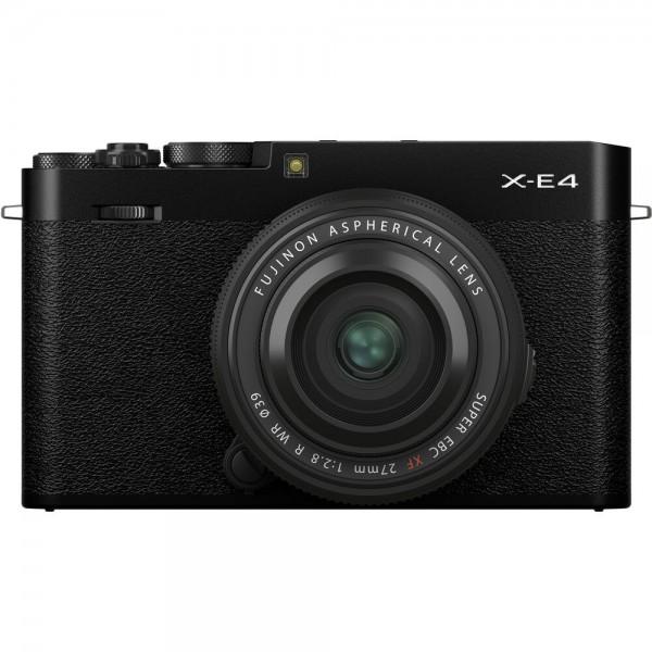 Fujifilm X-E4 schwarz + 27/2,8 WR