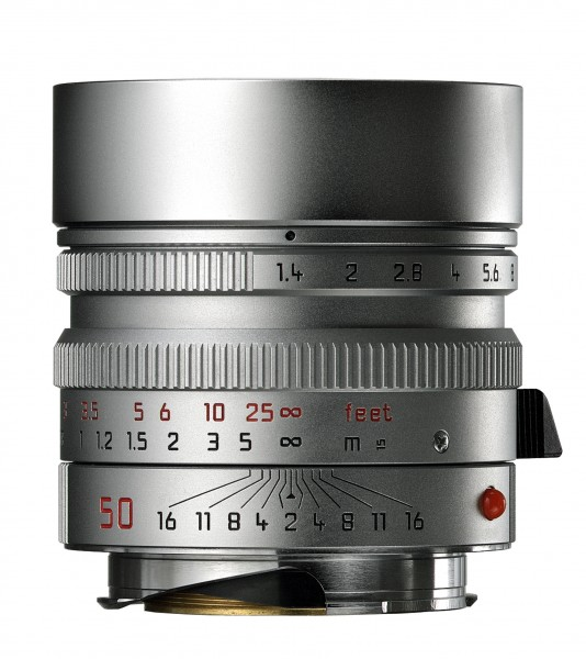 Leica 50mm/1.4 Summilux-M silber