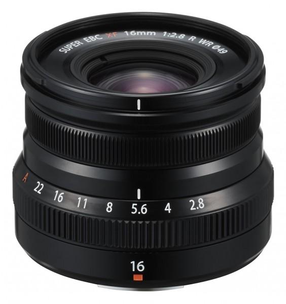 Fujifilm XF16mm F2.8 R WR schwarz
