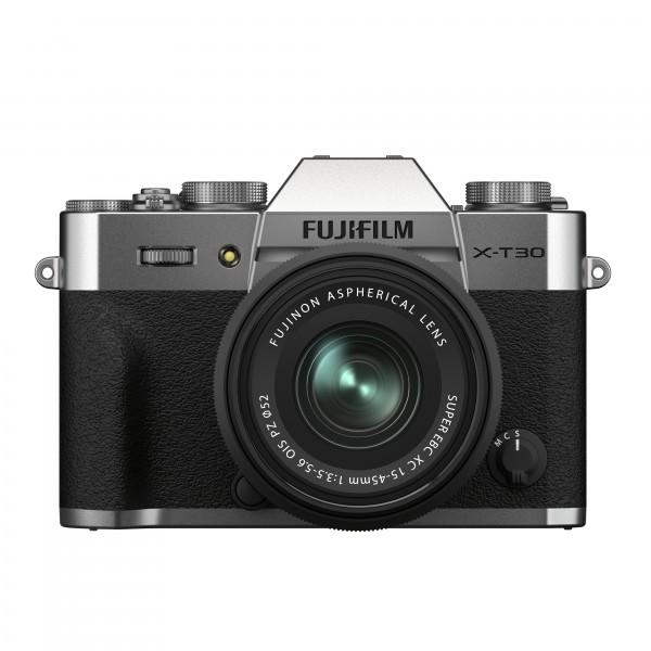 FUJIFILM X-T30 II silver + XC15-45mm Kit