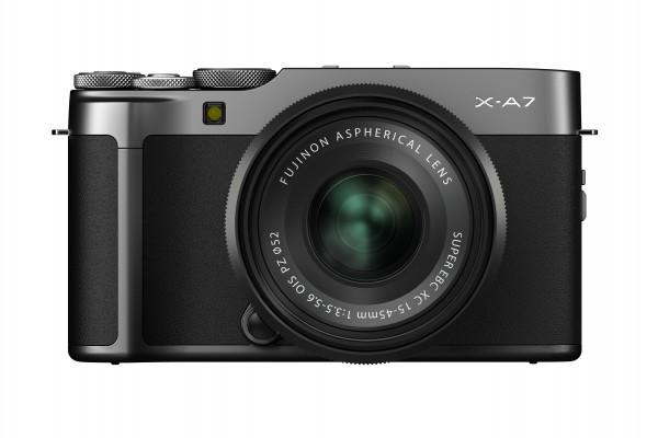 Fujifilm X-A7 + XC 15-45 darksilver