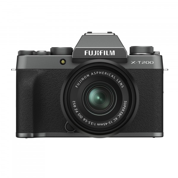 FUJIFILM X-T200 + XC15-45mm dark silver Kit